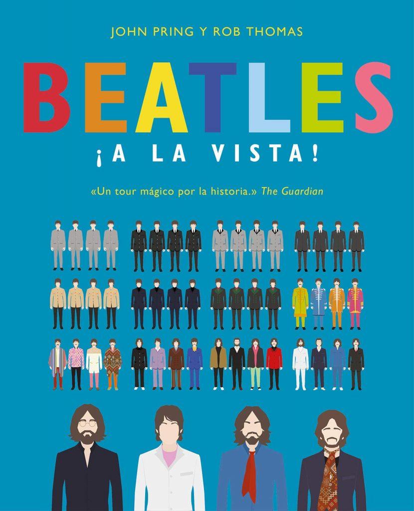 Regalos para Beatles fans: libro Beatles ¡a la vista ! -- El blog de aleare.design