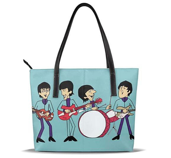 Regalos para Beatles fans: bolso Beatles Cartoon -- El blog de aleare.design