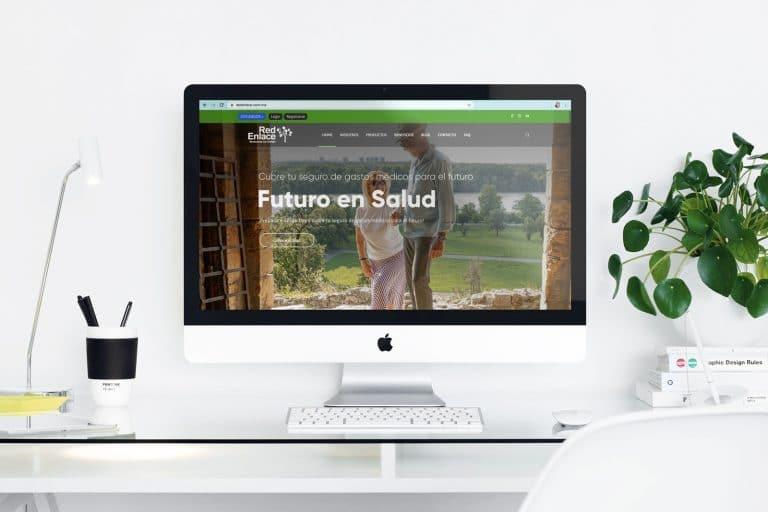#Portfolio » Rediseño web para RedEnlace