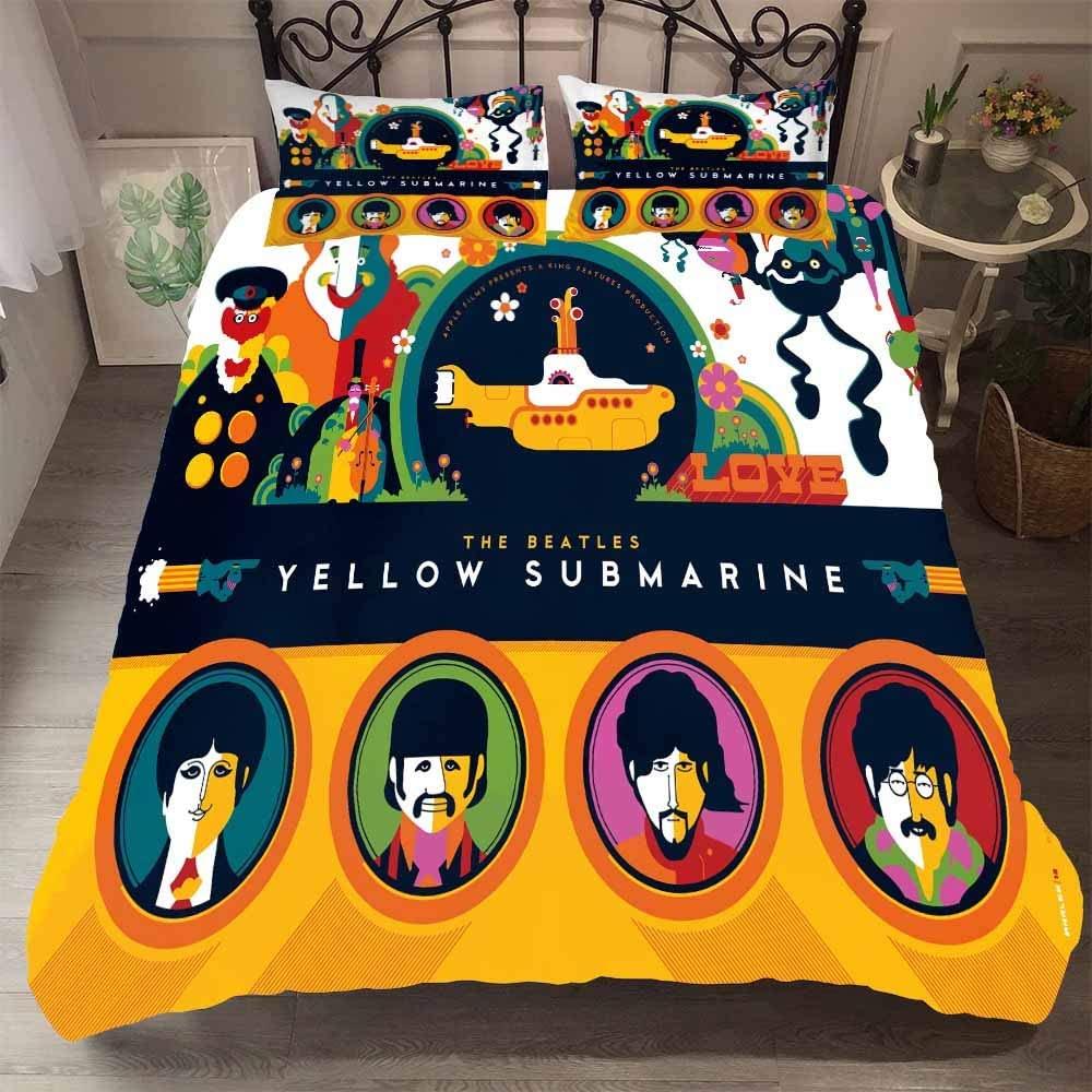 Sábanas y fundas Yellow Submarine -- El blog de aleare.design